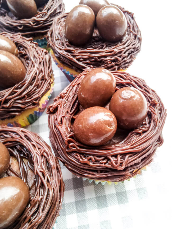 osternest muffins ostern cupcakes