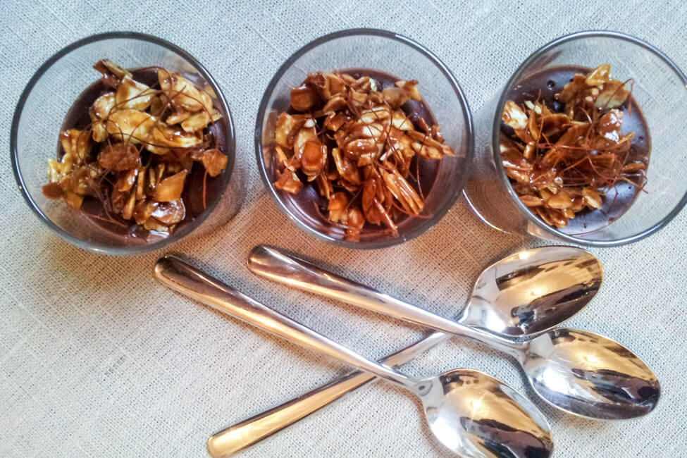 schoko chili creme indisch ayorveda schokopudding selbst kochen
