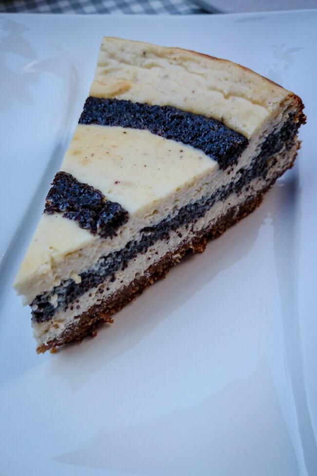 käse mohnkuchen cheesecake mohnfüllung