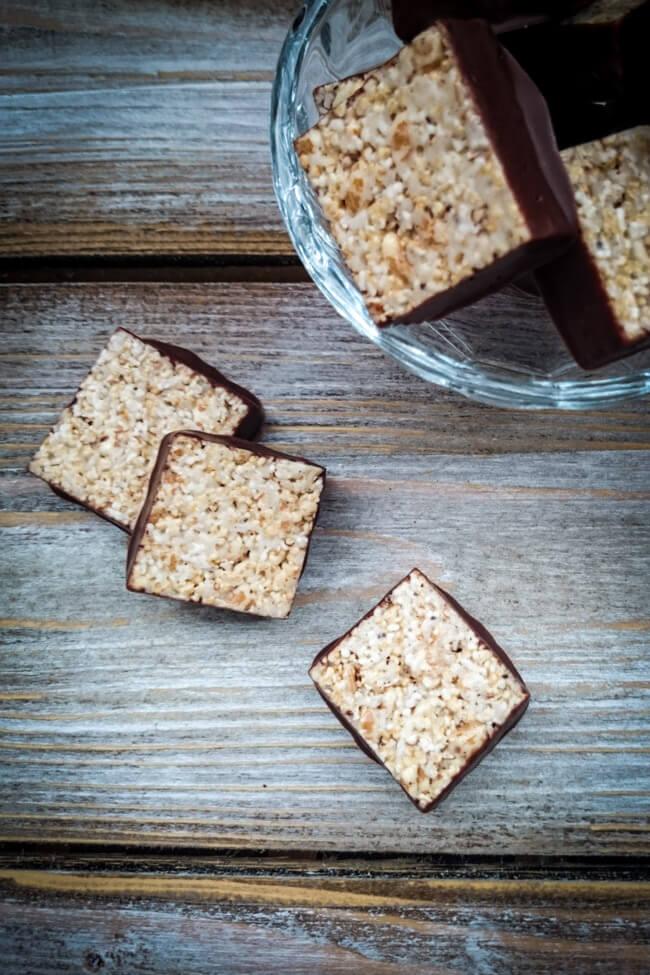 rice krispies mit schokolade puffreis kekse