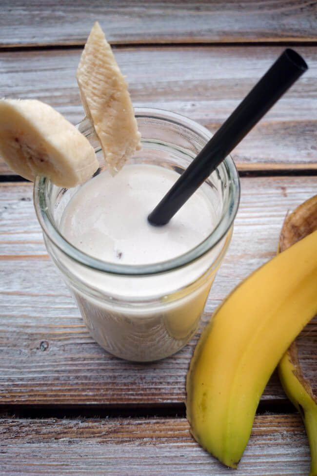 bananen shake smoothie