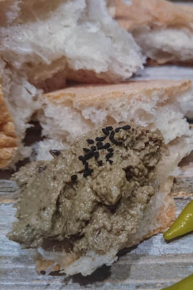 auberginen brotaufstrich vegan lecker einfach