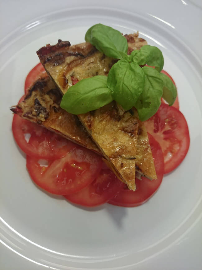 frittata gemüse vegetarisch italienisch frühstück