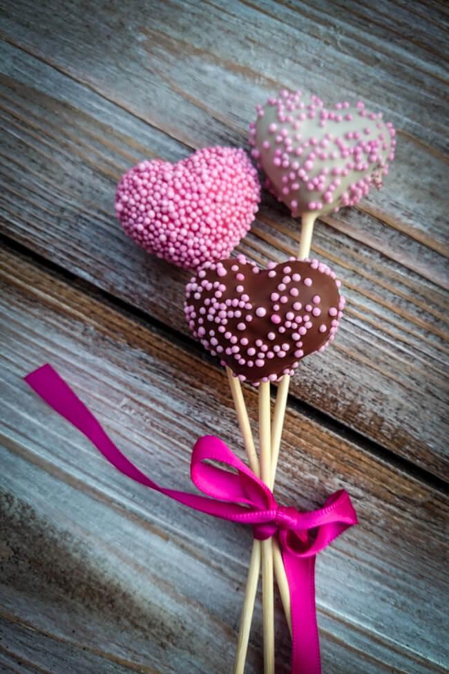 schoko mandel cakepop herzen cake pops schokolade mandeln
