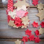 pasta nudeln sterne rot weiß selbst machen diy geschenke aus der küche weihnachten