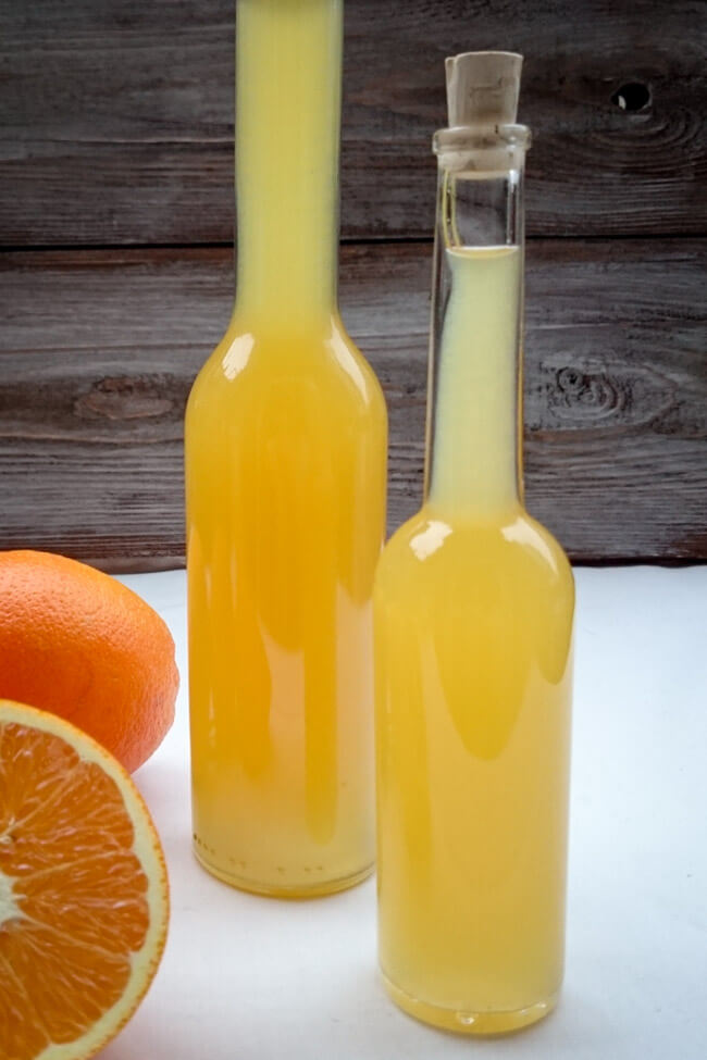 orangen honig essig geschenke aus der küche selbst machen
