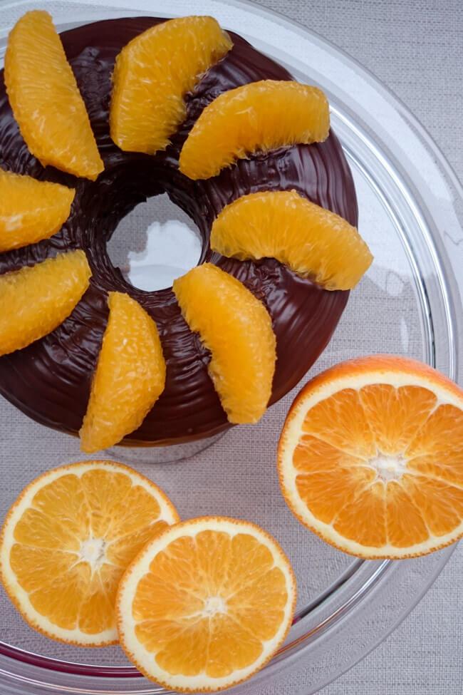 schoko orangen chili kuchen schokoladenglasur