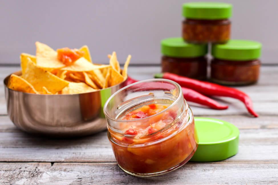 nacho salsa dip chili salsa