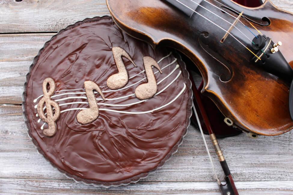 schokoladen birnen tarte kuchen