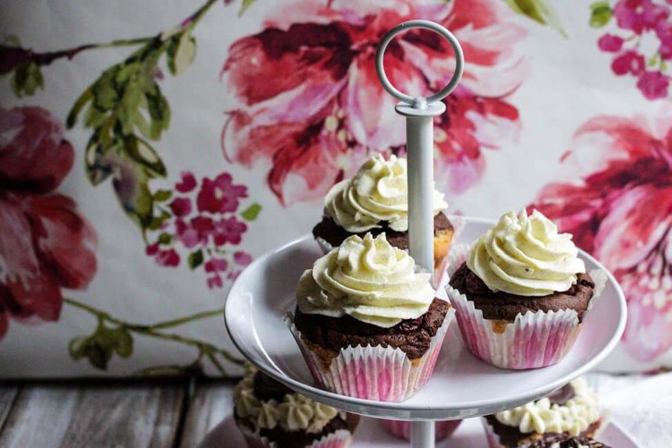 donauwelle marmorkuchen mit kirschen puddingcreme schokolade cupcakes muffins