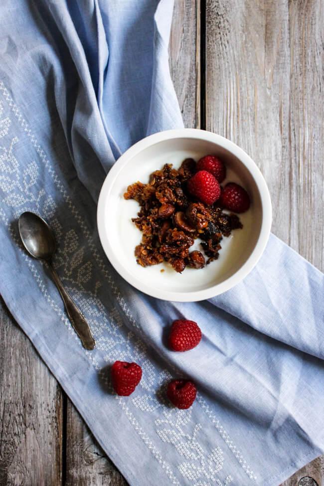 granola müsli jpghurt selbst backen selbst rösten