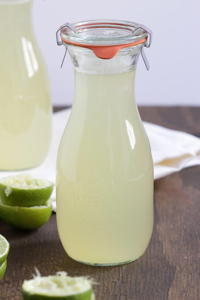 ingwer limetten sirup einkochen limonade