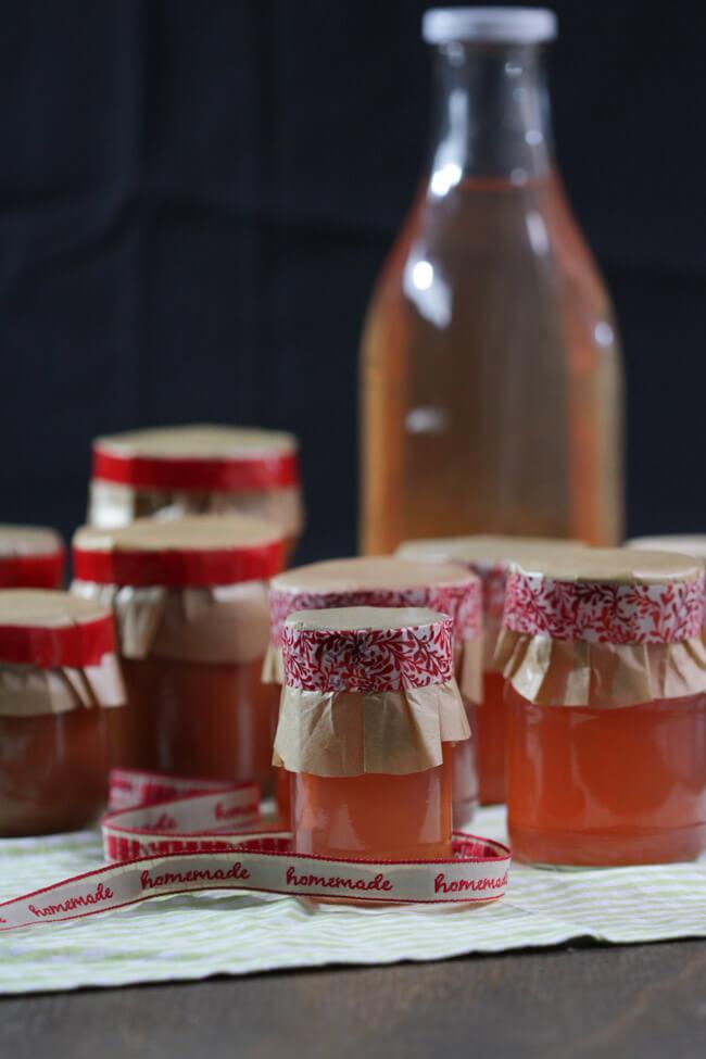 quitten gelee quitten marmelade sirup weihnachten geschenke aus der küche