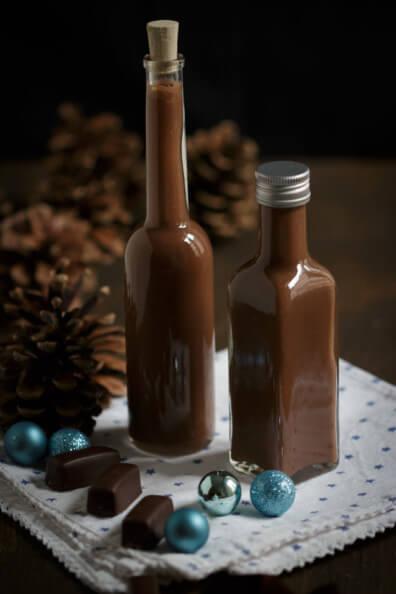 schoko toffee likör schokolade sahnig sahnelikör geschenke aus der küche weihnachtsgeschenk selber machen