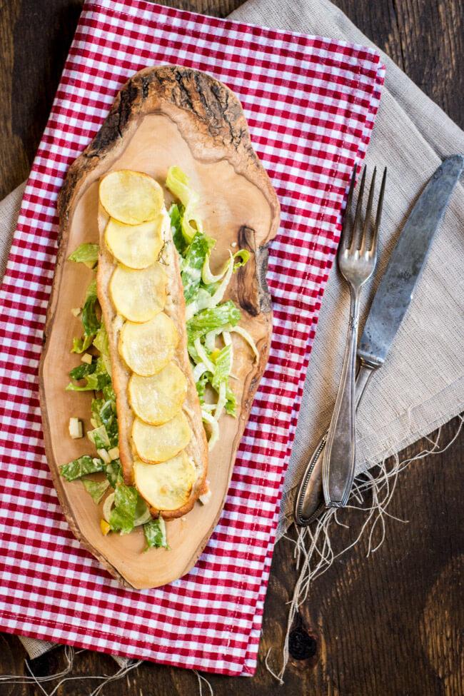 kartoffel brotfladen flammkuchen kartoffeln salat fenchel