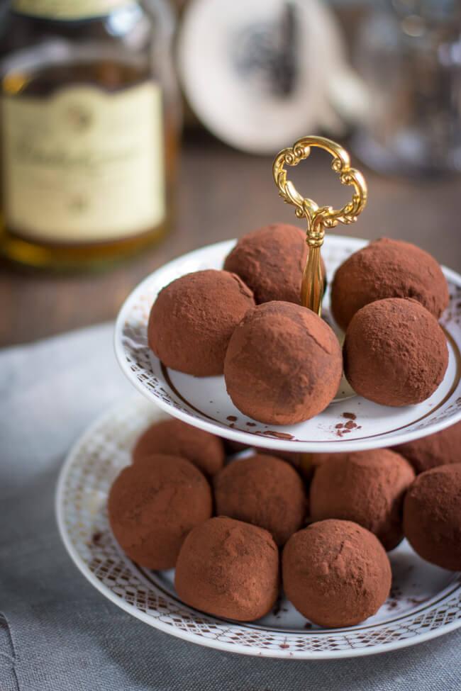 whisky whiskey schokoladen bällchen kuchen bällchen snack süß