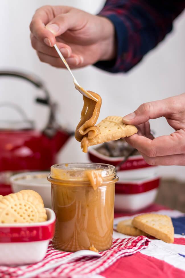 christmas fudge kitchen aid karamellsauce brotaufstrich weihnachten geschenk aus der küche