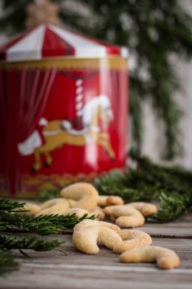 weihnachtsplätzchen vanille kipferl plätzchen weihnachten