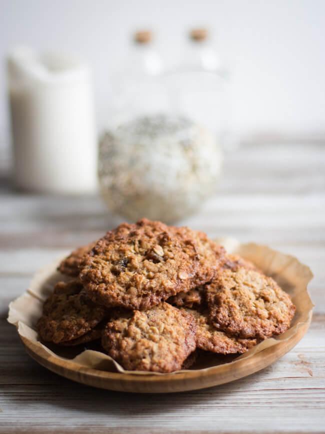 müsli kekse frühstück unterwegs cookies
