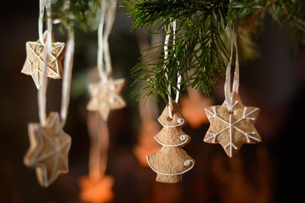lebkuchen baumanhänger christbaumschmuck selbst machen
