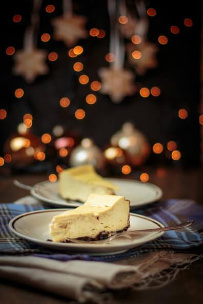 caramel cheesecake weihnachten käsekuchen mit karamell