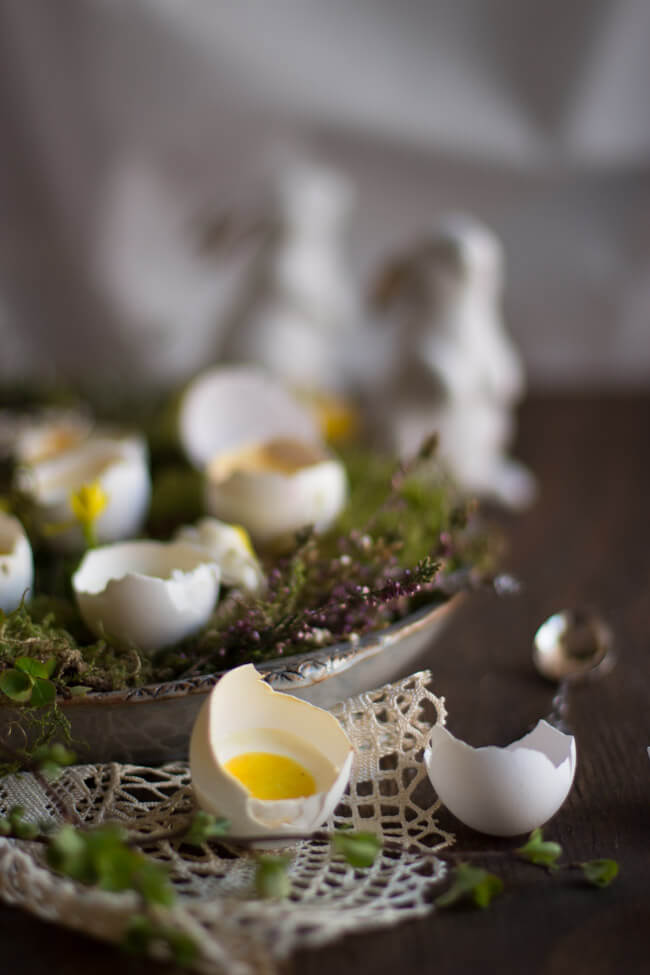 mini cheesecake in der eierschale dessert ostern ostertafel