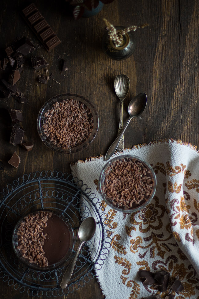 schokoladenpudding schokopudding pudding kochen homemade