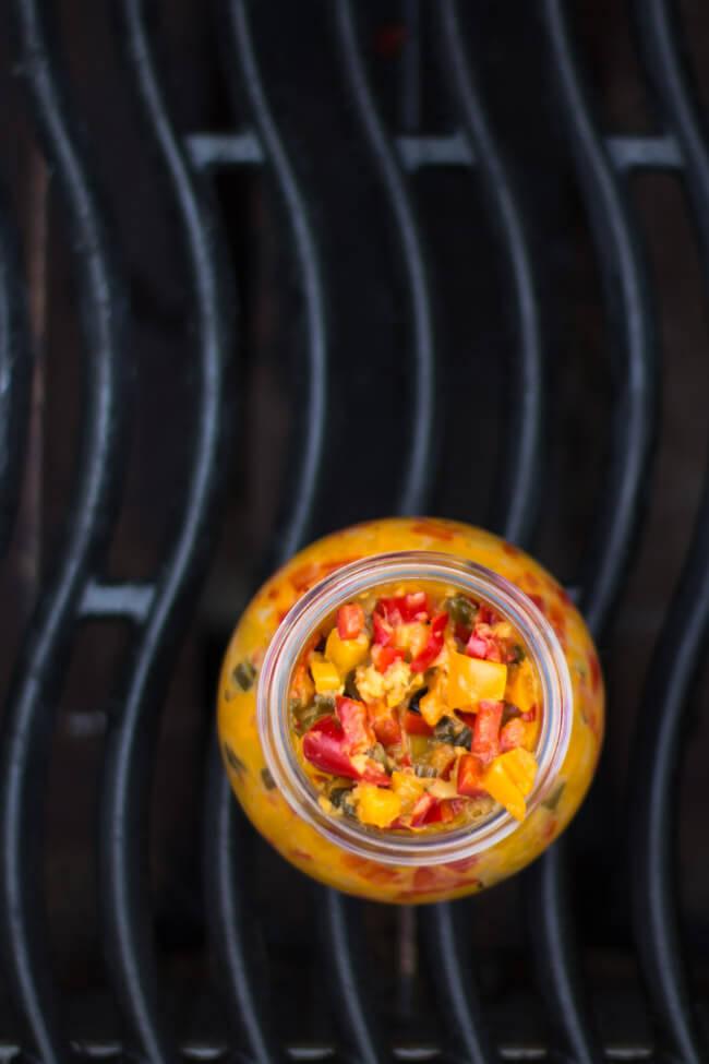 paprika ingwer chutney grillen dips bbq