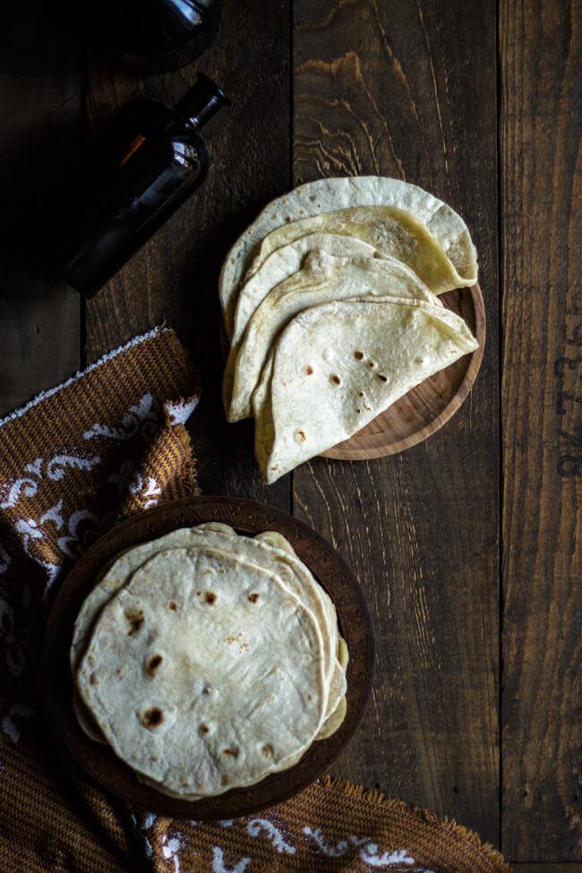 tortilla fladen weizenfladen selbst machen