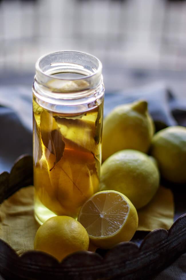salzzitronen marokko marokkanische zitronen fermentierte