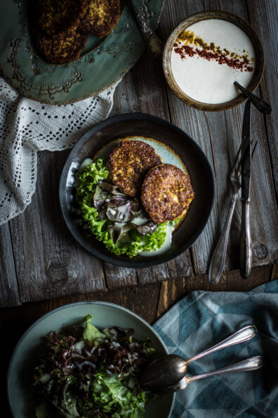 kürnis frikadellen bratlinge buletten kürbisfleisch vegetarisch dip veggie