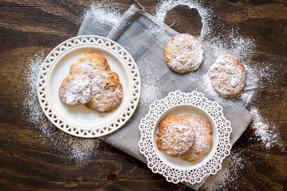 apfel walnuss cookies kekse nuss
