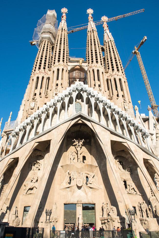 reiseblogger städtetrip städtereise barcelona spanien sagrada familia atoni gaudi