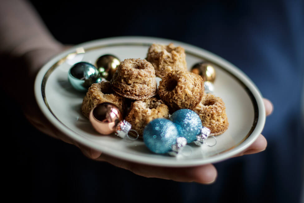 mandel vanille plätzchen weihnachtsplätzchen gugelhupf kränze