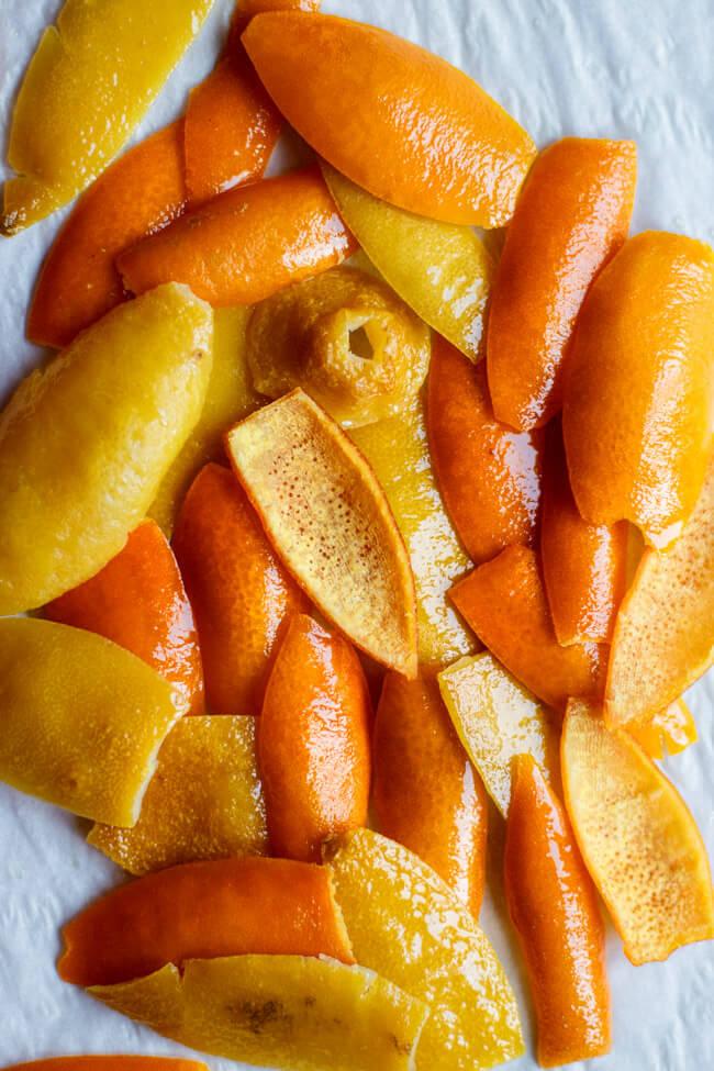 orangeat zitronat selbst machen selber machen kandieren zitrusschalen zitrus stollen lebkuchen orange zitrone vegan weihnachtsbäckerei