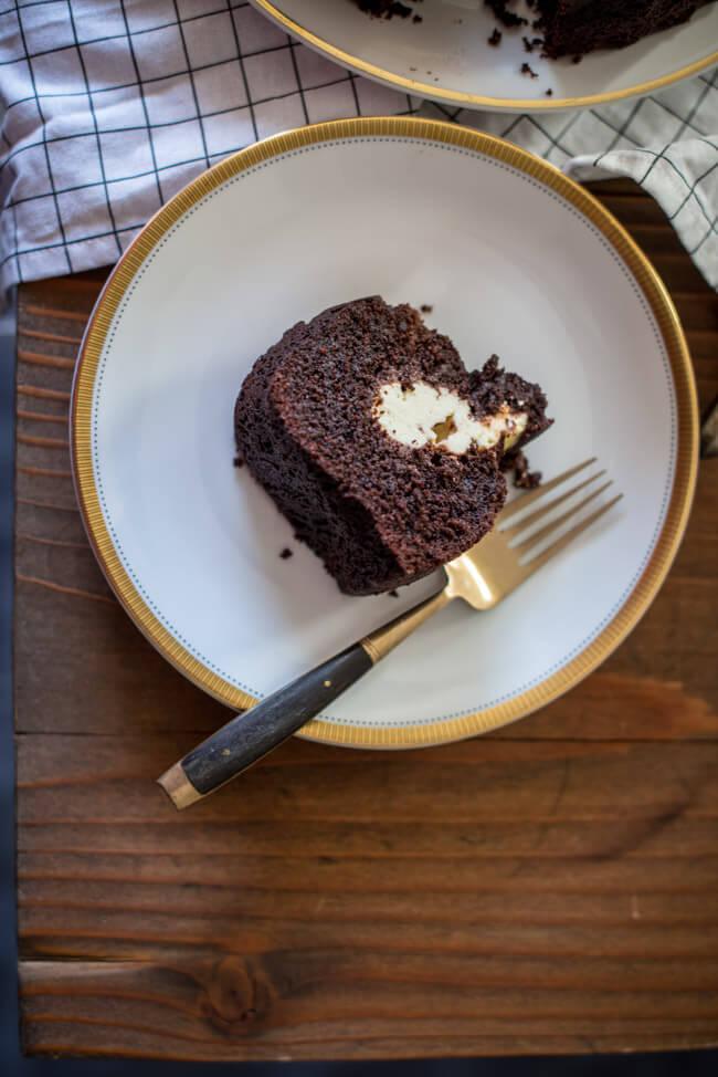 Brownie Gugelhupf Kuchenstück