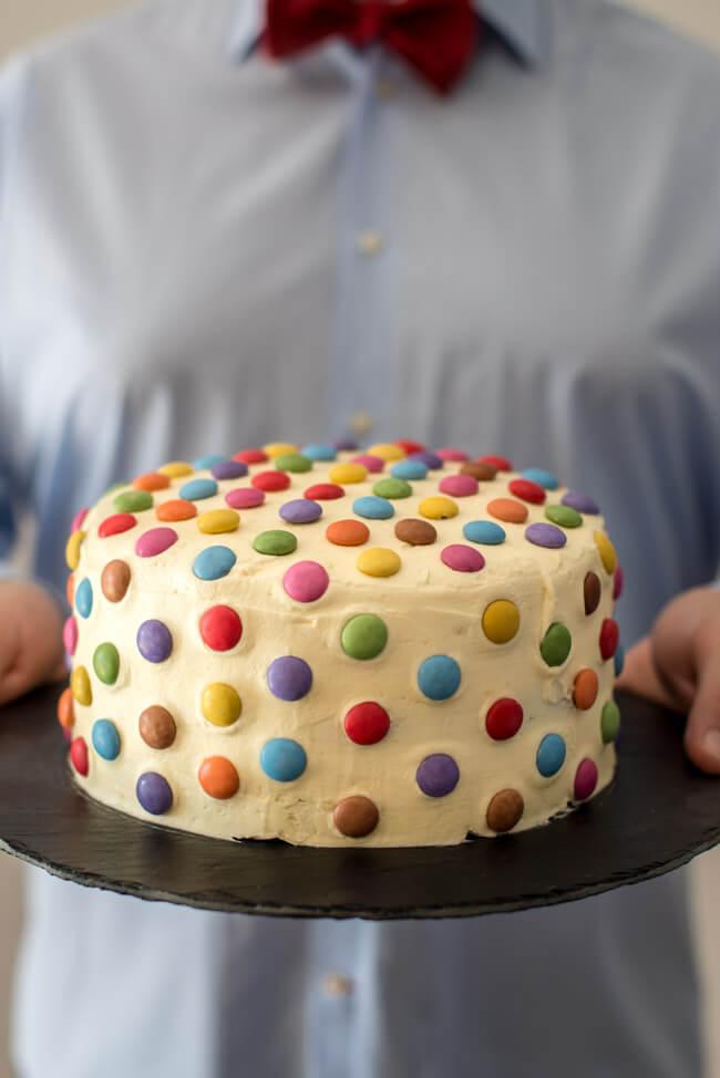 Surprise Inside Torte Zum Kindergeburtstag