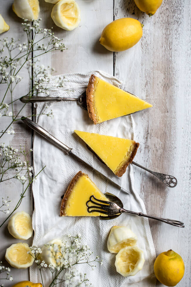 lemon tarte zitronenkuchen heston blumenthal the fat duck rezept
