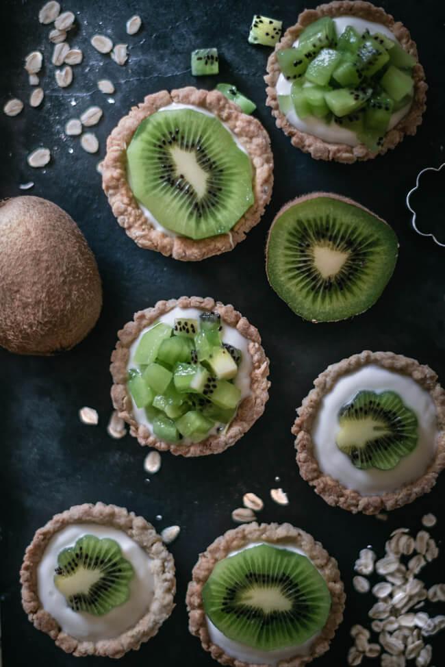 müslitörtchen kiwi joghurt müsli cup cake