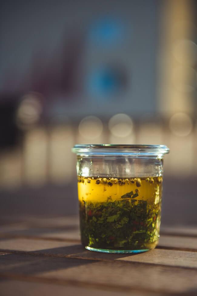 chimichurri dip chakall südamerikanisch öl gewürze kräuter chili knoblauch
