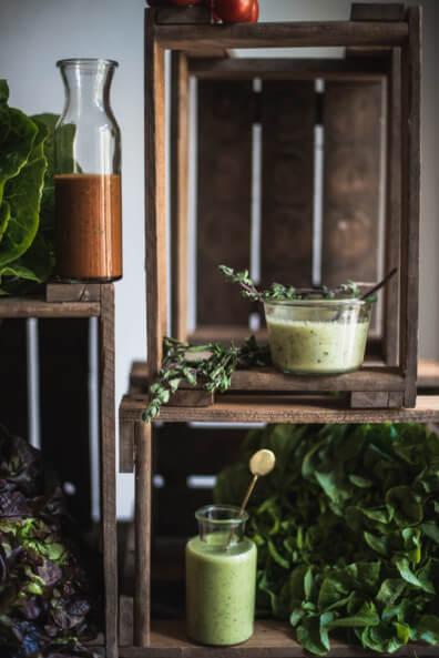 tomaten basilikum dressing zucchini senf apfel oregano