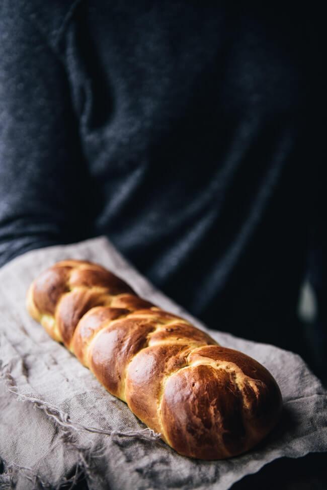 Brioche Hefezopf Butterbrioche Frühstück Gebäck