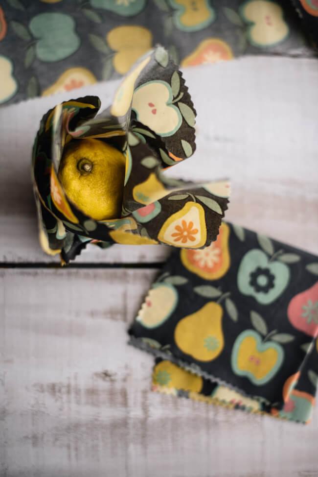 DIY Bienenwachstücher einfach selber machen nachhaltig umweltbewusst