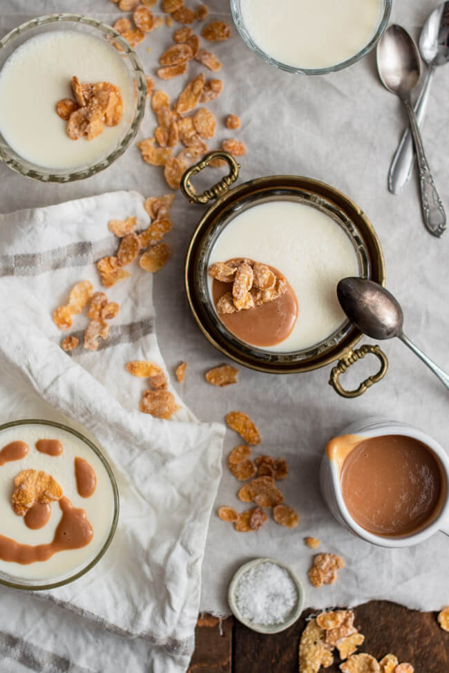 Cereal Milk Panna Cotta Cornflakes Milch Christina Tosi Chefs Table