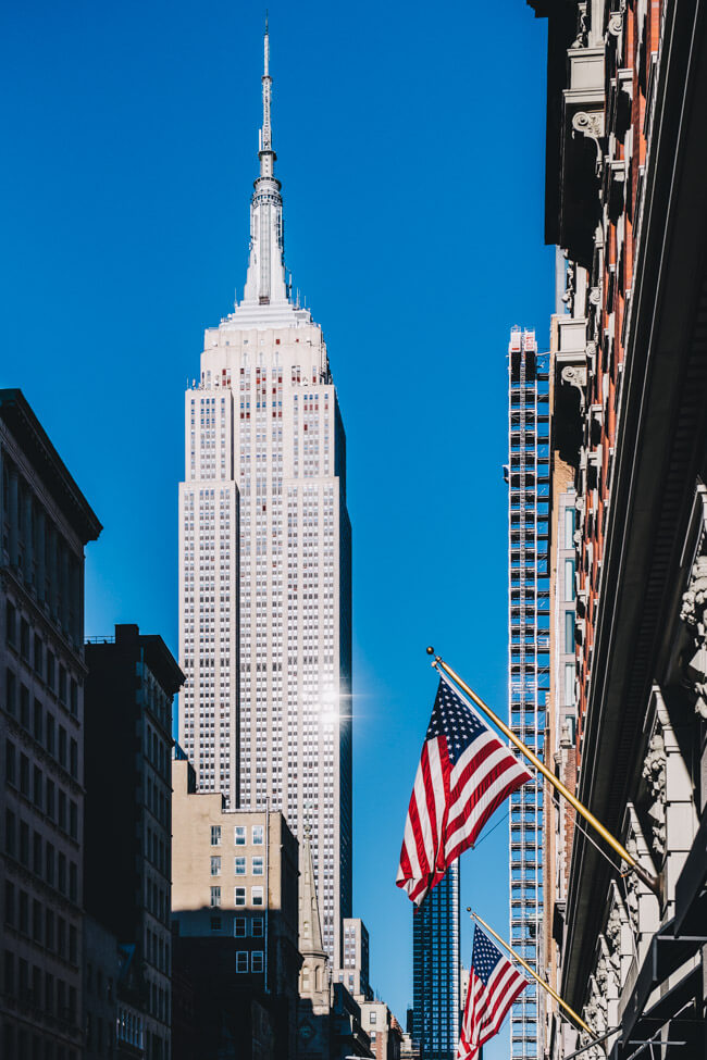 NYC New York City Manhattan Empire State Building