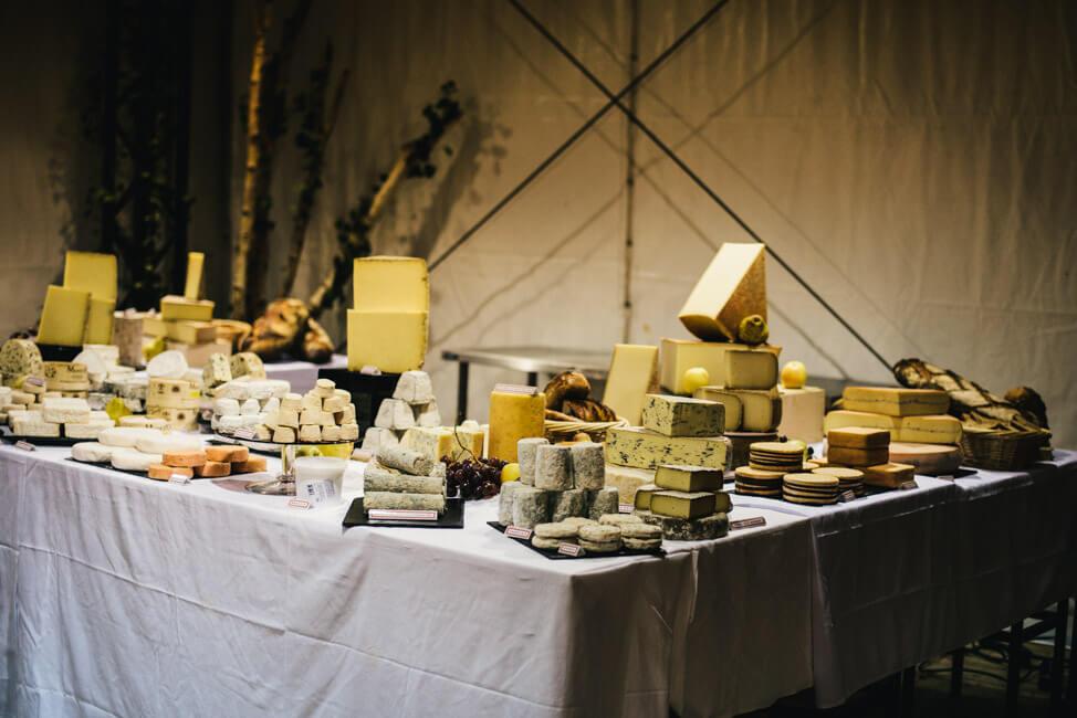 paris fete de la aop Käse aus Frankreich käsebuffett