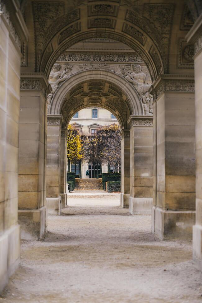 paris park triumphbogen