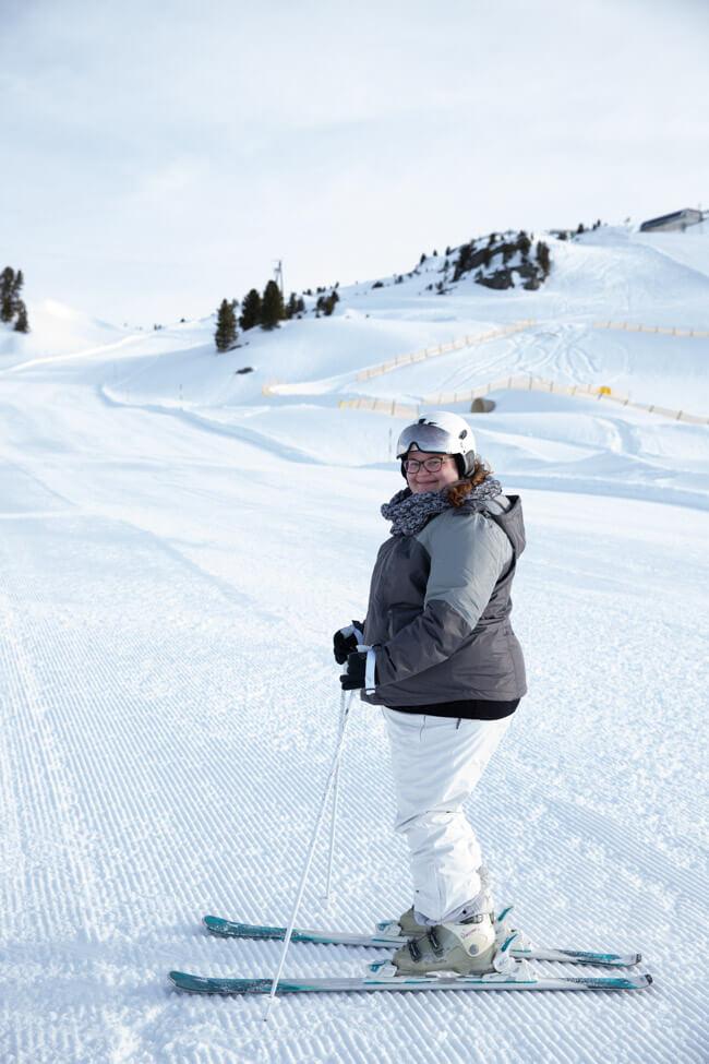 Skifahren Zillertal Good Morning Skiiing unberührte Piste früher Vogel Frühaufsteher Skiurlaub Österreich Anfänger Kaltenbach