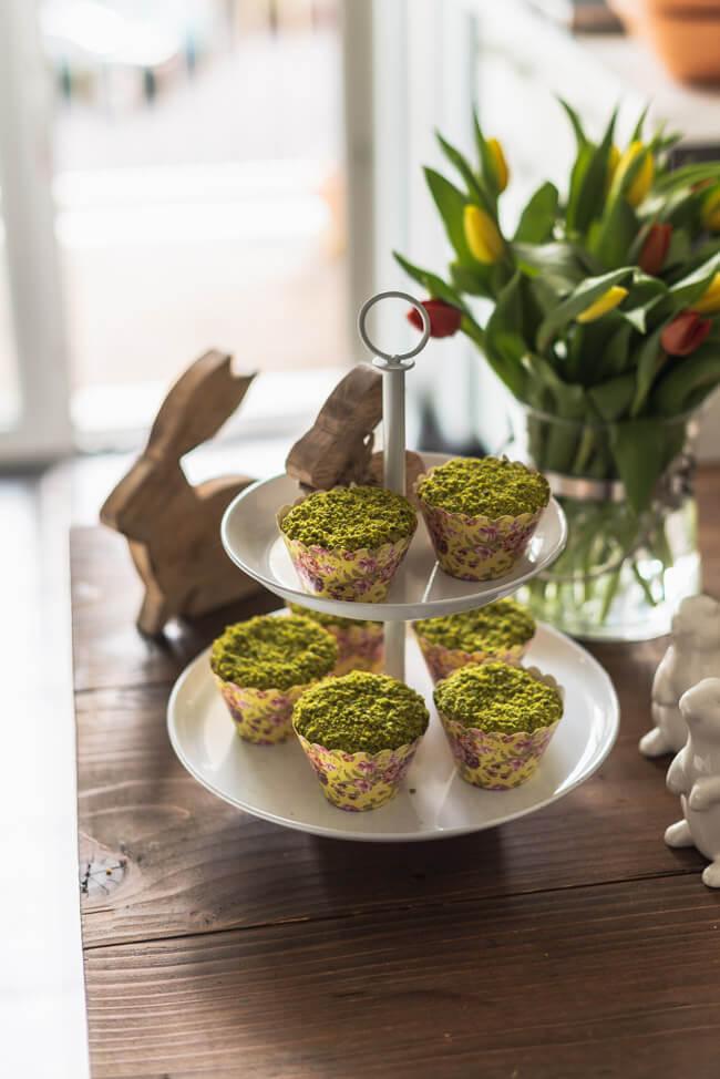 Möhren Muffins zu Ostern