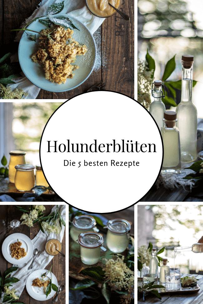 Holunderblüten die 5 besten Rezepte Holunder einkochen einmachen backen Blüten Sommer Sirup Marmelade Backteig traditionell